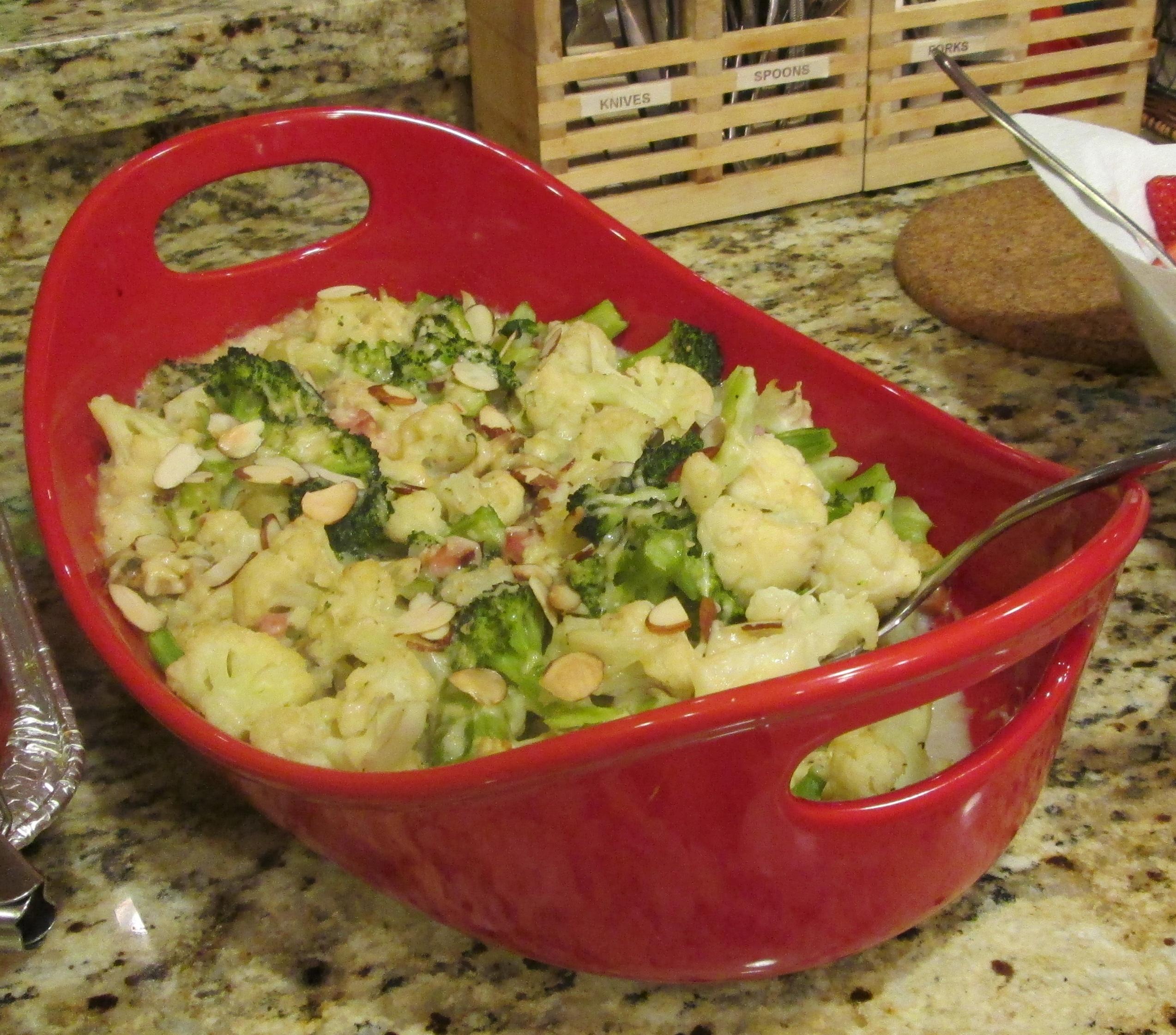 烤雙色花椰菜5